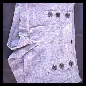 Women's Express Front Button Shorts
